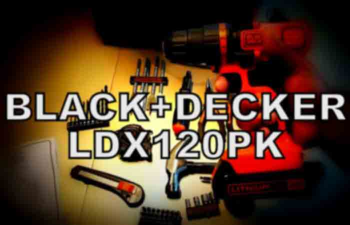 BlackDecker LDX120PK FI