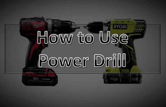 How To Use a Power Drill FP