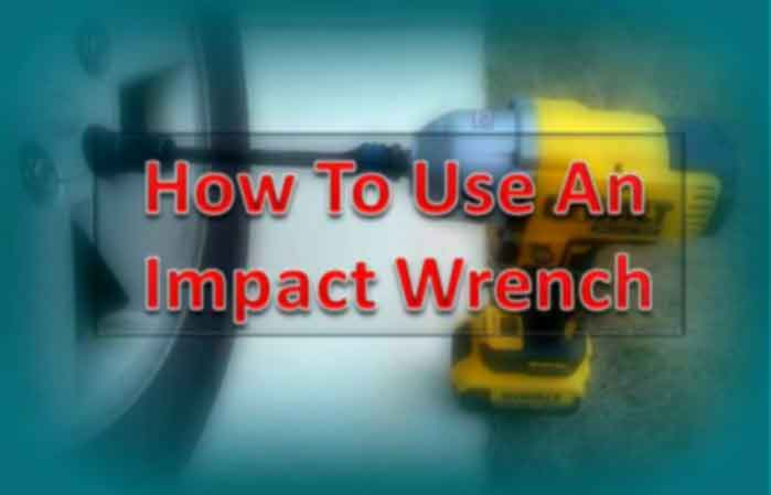 How to use an impact wrench FP