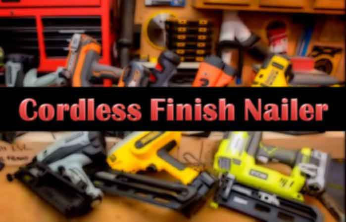 Cordless Finish Nailer
