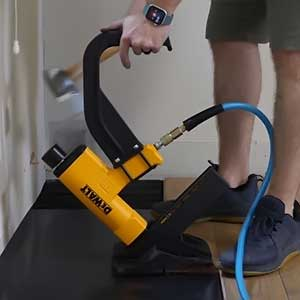How to Use a Floor Nailer