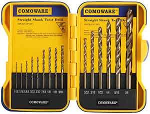 COMOWARE Cobalt Drill Bit Set