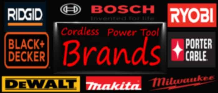 Best Cordless Power Tool Brands in the world