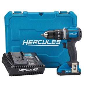 Hercules 20V Lithium Cordless Compact Hammer Drill