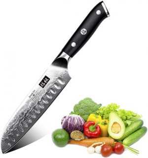 SHAN ZU LIGHTWEIGHT KITCHEN SANTOKU KNIFE