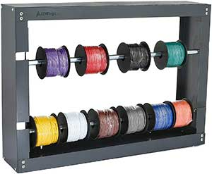 AdirPro Wire Spool Rack - Superior Strength WireCable Dispenser