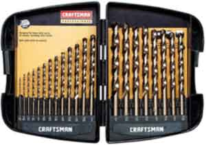 Craftsman 9-64085 Professional Cobalt Drill Bit Set, 21 Piece